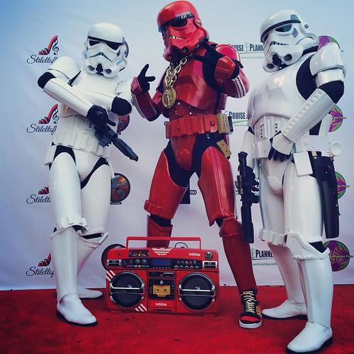 San Diego Comic-Con 2015 Cosplay - Hip-Hop Stormtrooper