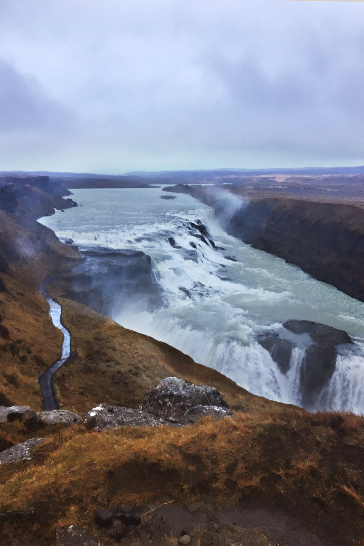 gulfoss watefall