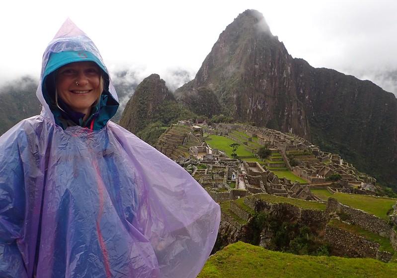 Visita al Machu Picchu.
