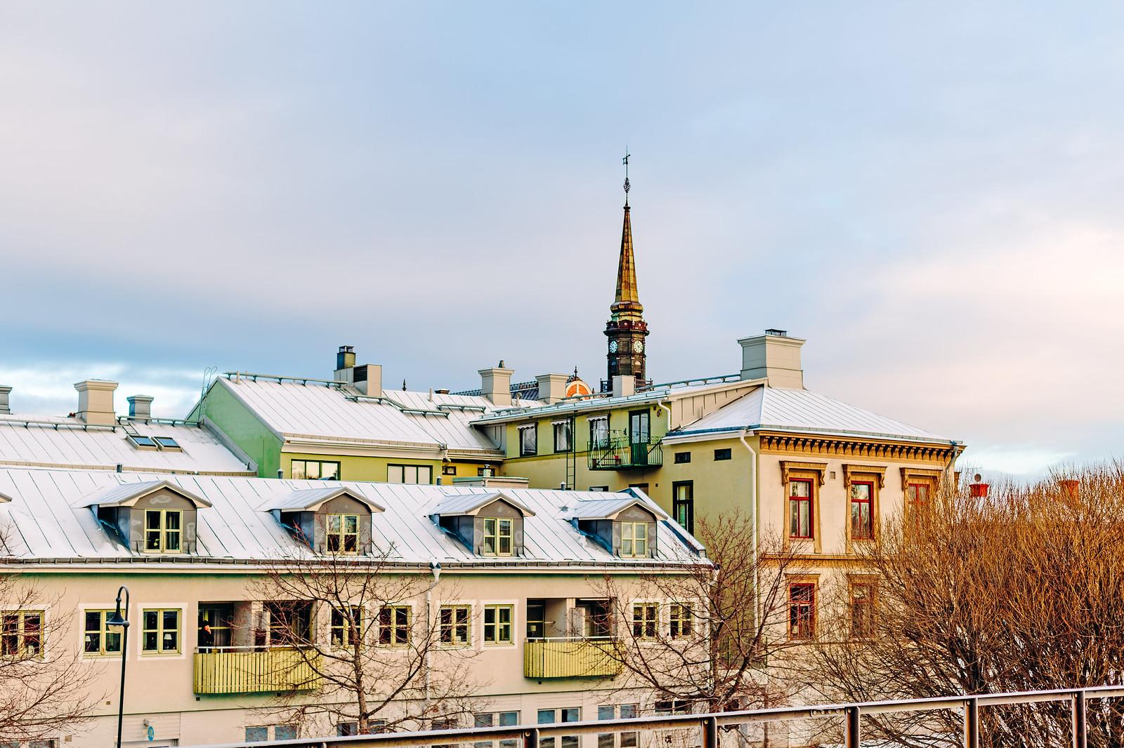 Hus i Söderhamn