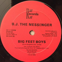 B.J. THE MESSENGER:NIGHT FREAK(LABEL SIDE-B)