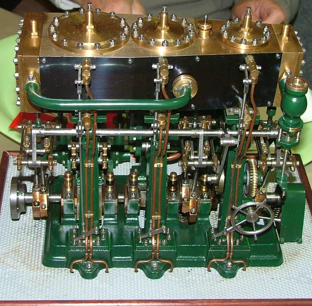 Compound Steam Engine Design
