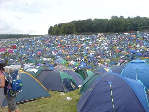 Leeds Festival - Tent ...