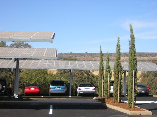 Solar Panels used as Parking Shade | by Great Valley Center