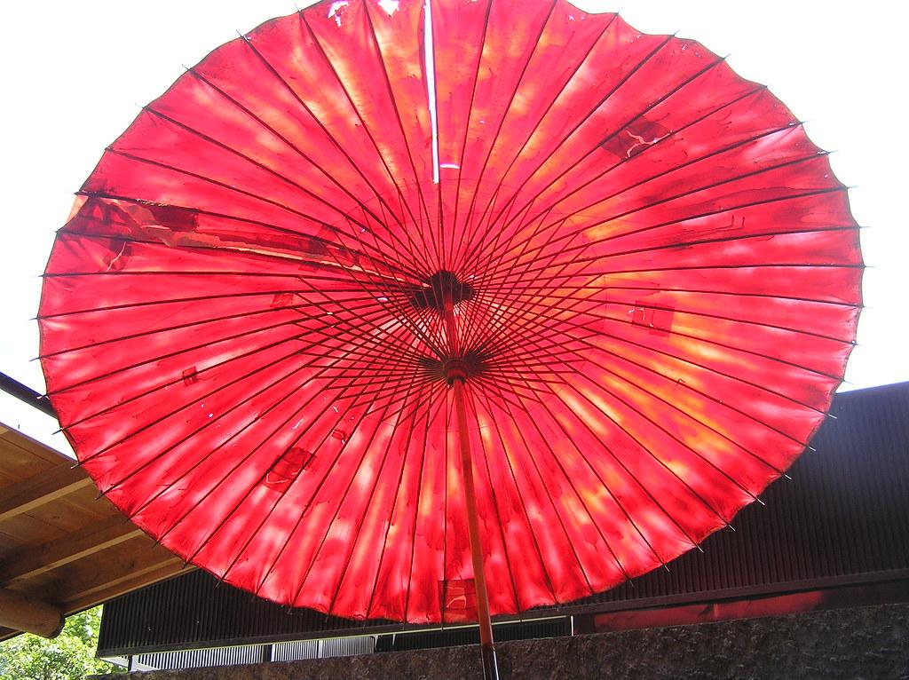 red parasol 2