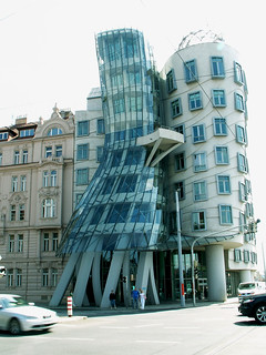"Prague - ""Ginger and Fred"" or ""Dancing house"" 