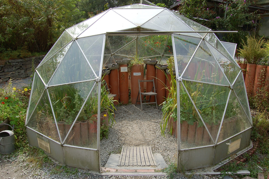 Centre For Alternative Technology Geodesic Greenhouse Flickr
