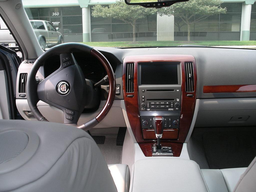 2006 Cadillac Sts Interior Back Seat 1 Interior Shot