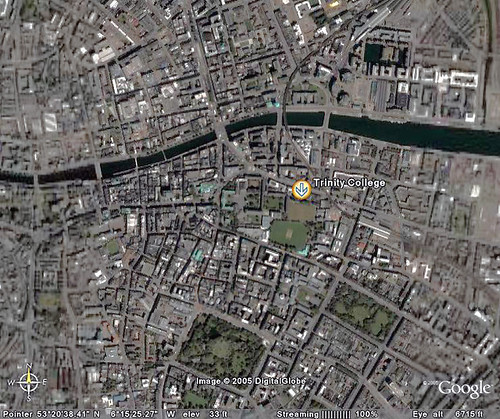 how to go back to regular google earth