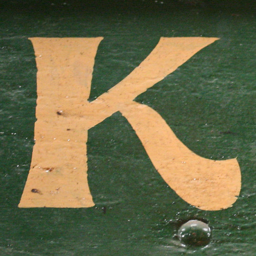 letter K | by Leo Reynolds