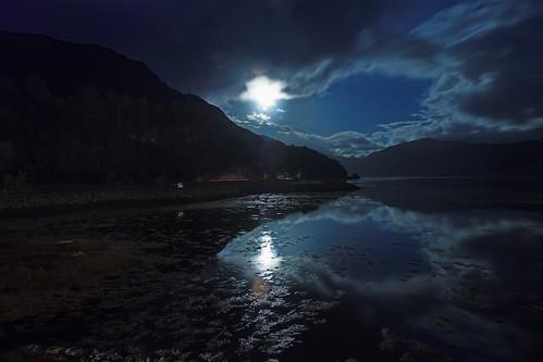 Loch Duich from Eilean Donan | A long exposure of Loch ...