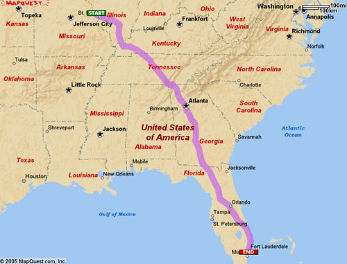 how to get from miami to orlando