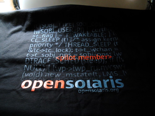 OpenSolaris Shirt | by mrbill