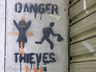 Danger. Thieves. | by Van in LA