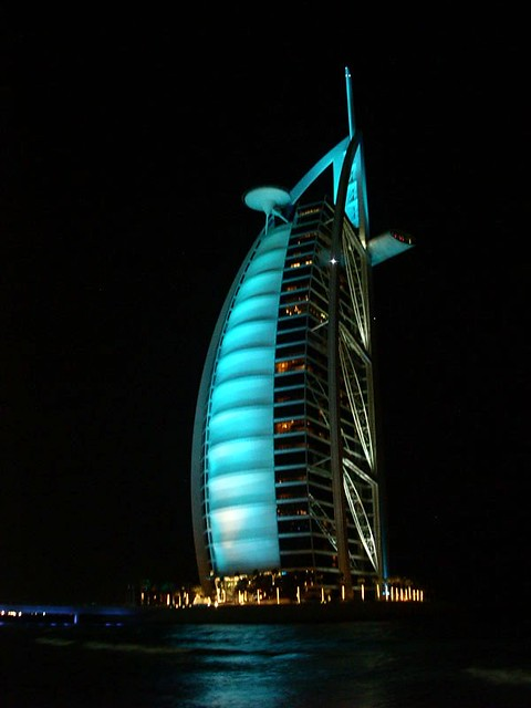 Dubai burj al arab 7 star hotel jumeira uae the for Dubai top hotels 7 star