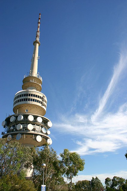 telstra tower canberra australia onerandommonkey flickr. Black Bedroom Furniture Sets. Home Design Ideas