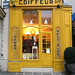 adorable hair salon along rue rivoli