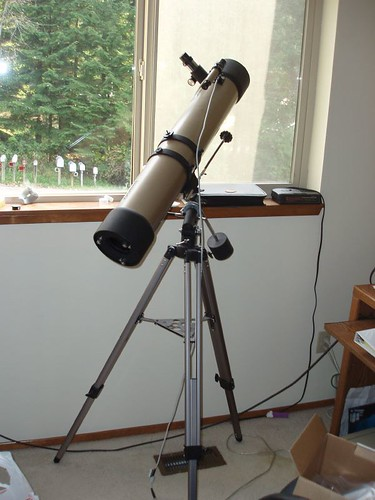 how to use a tasco luminova telescope