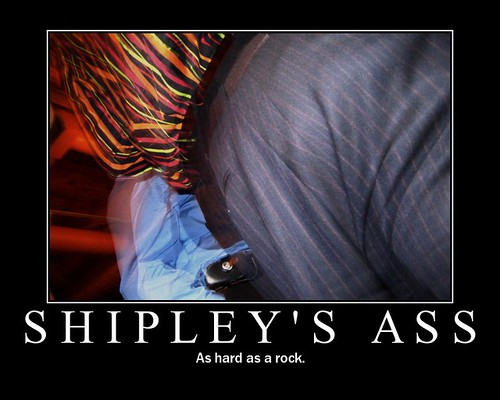 Shipley's Ass Poster | by Additive Theory