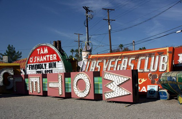 Home Of All The Old Las Vegas Signs | Bob Jagendorf | Flickr