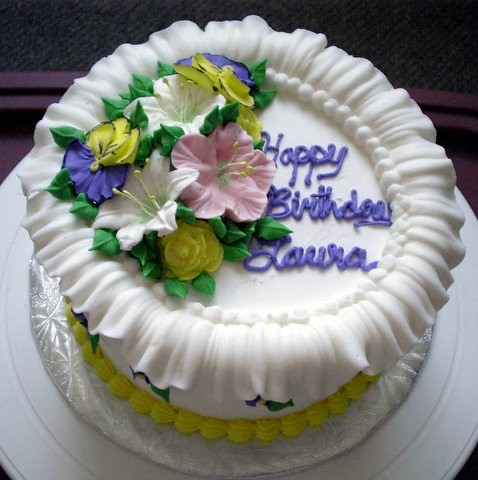 Laura Birthday Cake