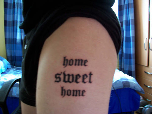 home sweet home tatoo | by chantelle