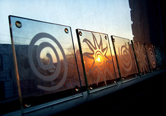 sunset on my window sill | by Mr.  Mark