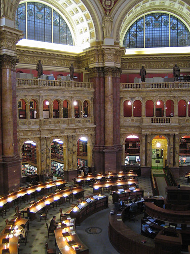 Library of Congress Reading Room 2 | by maveric2003
