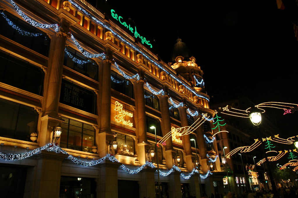 El corte ingles large department store in barcelona very flickr - El corte ingles stores ...