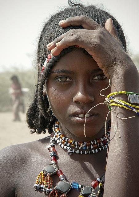 Afar Girl, Ethiopia  Afar Girl In Ethiopia  Eric -3434