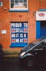 Proud to sell British meat | by Catjerome