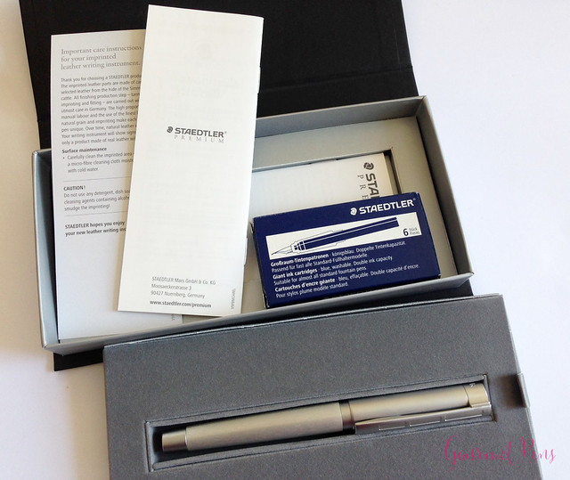 Review Staedtler Initium Metallum Fountain Pen @Penworld_be @STAEMars (2)