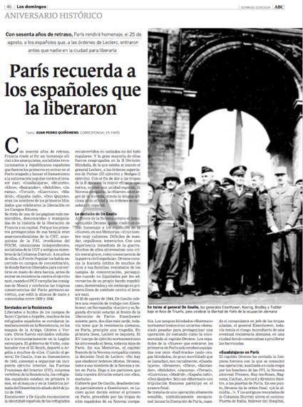 15f03 Los españoles que liberaron París 1