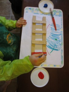 Build a Ladder (Photo from How to Run a Home Daycare)
