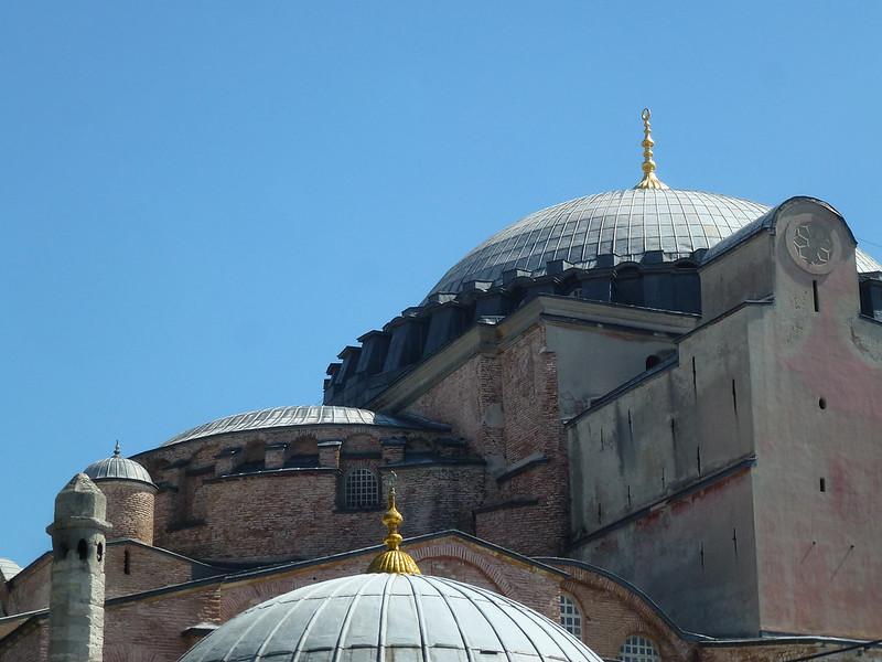 Turquie - jour 23 - Balades poétiques et visages stambouliotes - 029 - Sainte-Sophie