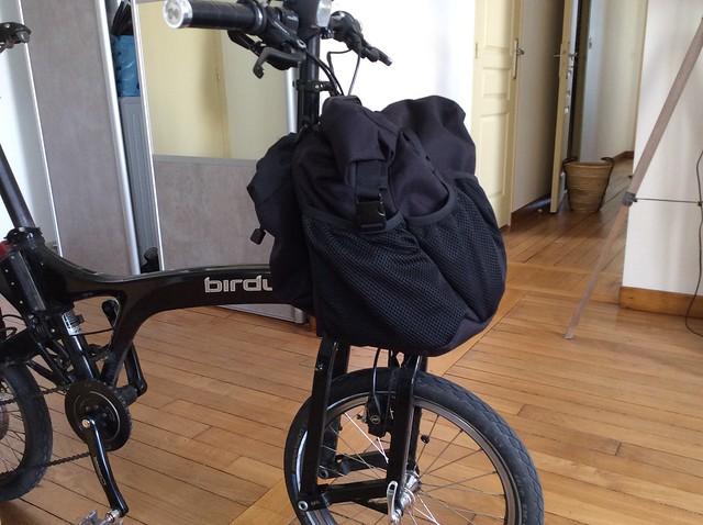 Sac avant de marque Brompton sur un autre vélo pliabe (Dahon, Birdy,...) - Page 2 18729974203_0fa42f2645_z