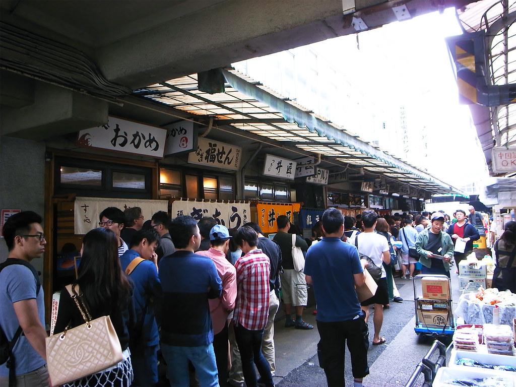 築地市場2015