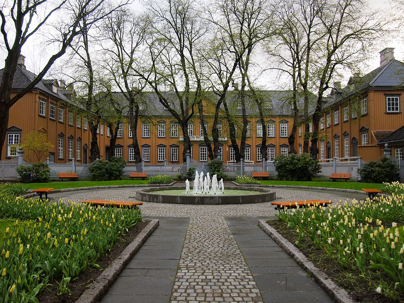 Stiftsgården royal residence in Trondheim, Norway