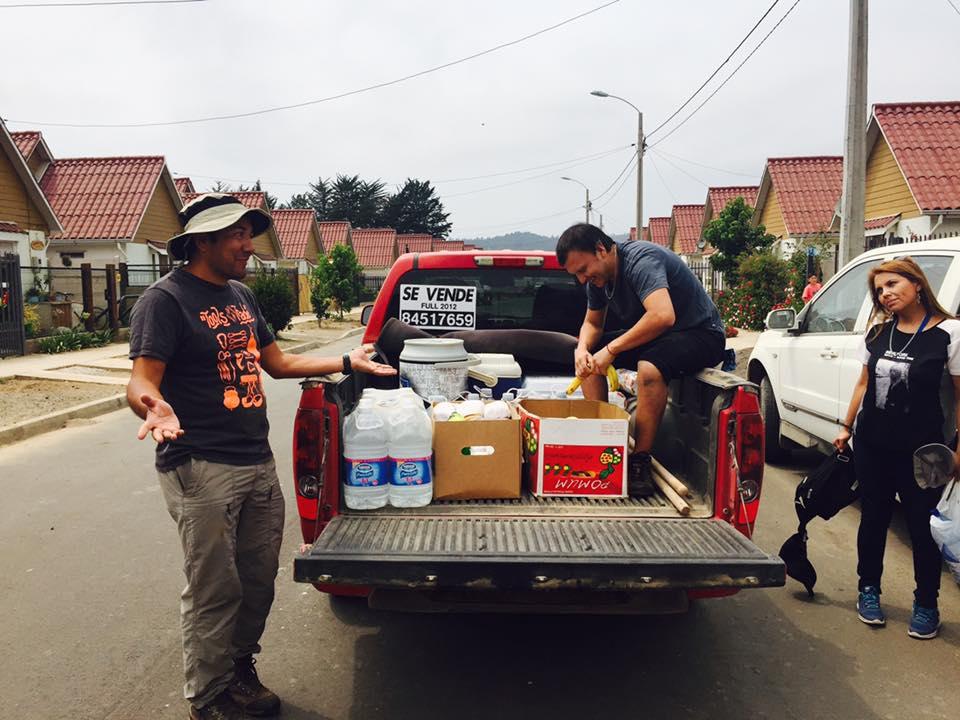 AET Ayuda a los damnificados de los incendios - 30 Enero 2017