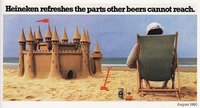 Heineken-1980-sandcastle