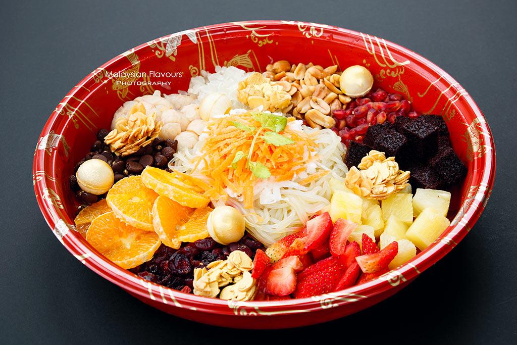 fruity dessert yee sang