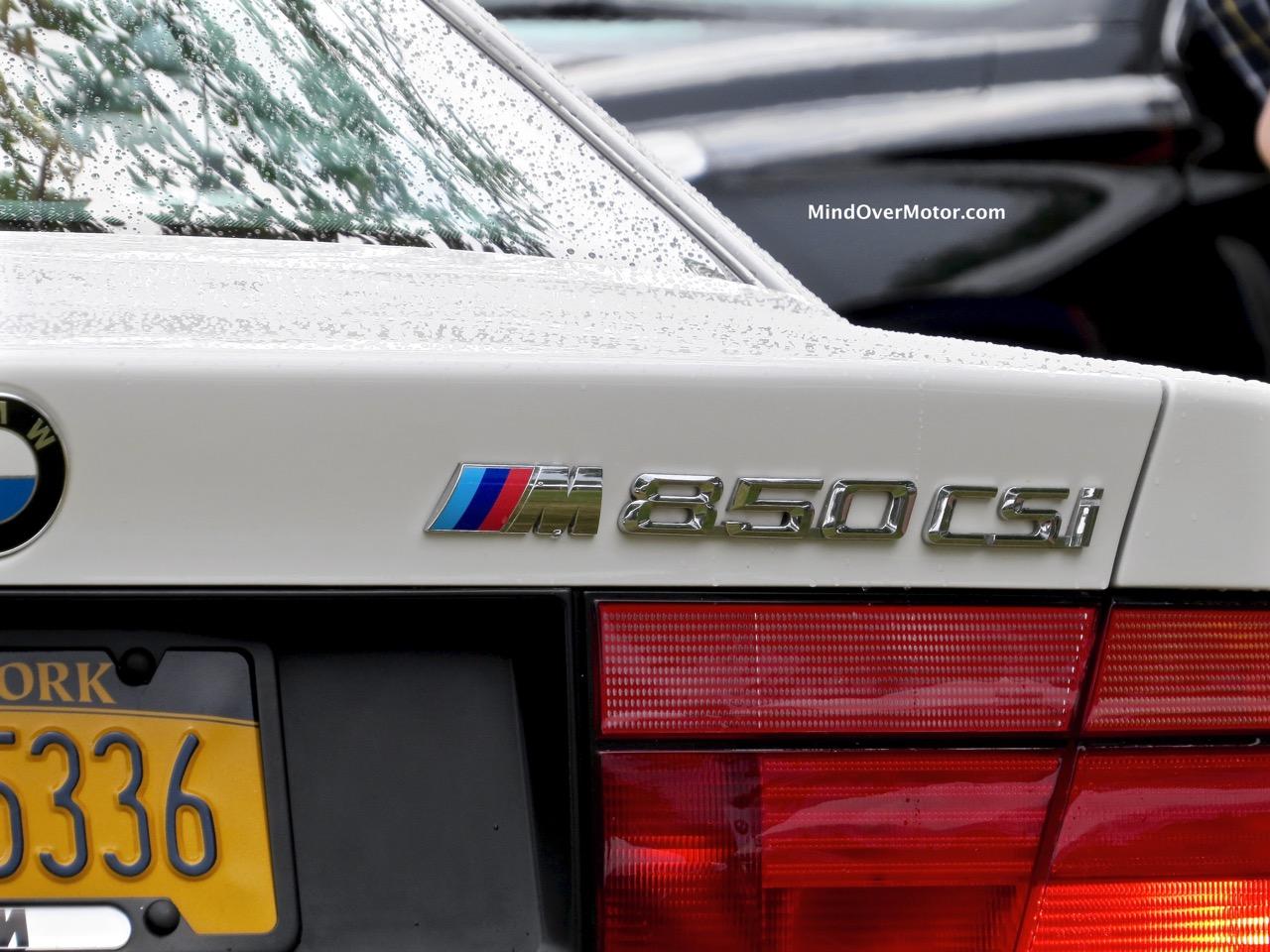 BMW 850CSi Taillight