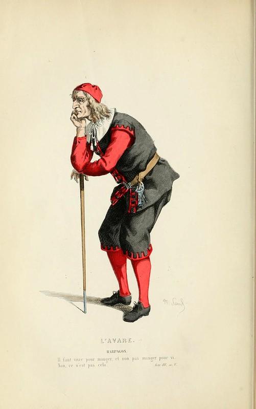 012- El avaro -Oeuvres completes ornee de portraits en pied colories…1871- Moliere