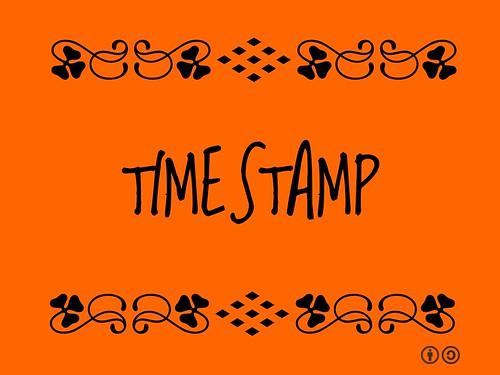 Buzzword Bingo: Timestamp