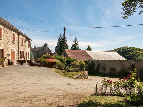 Little village in the French country