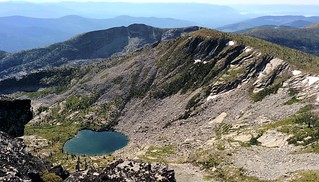 McCormick Lake from Hunt Peak