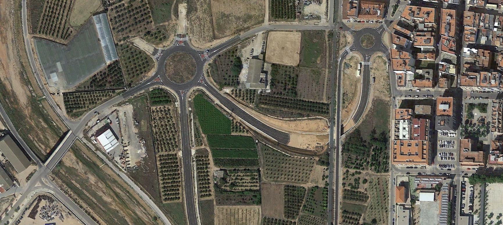 carlet, valencia, octocoño, después, urbanismo, planeamiento, urbano, desastre, urbanístico, construcción, rotondas, carretera