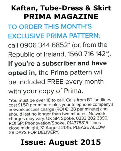Prima Magazine - Pattern, August 2015 (04)