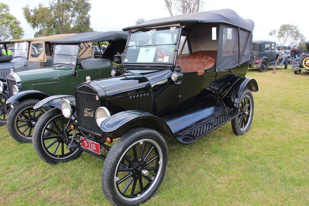1921 Ford Model T T3 Tourer The Ford Motor Company Was