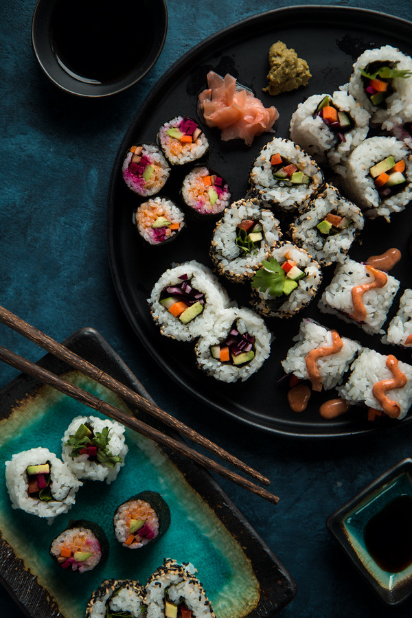Veggie Sushi & 5 Tips For Awesome Sushi At Home | Will Cook For Friends